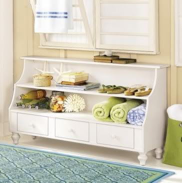 This Large London Low Console From Ballard Designs, Which Comes In 4  Different Colors, Is One Option. At 54u2033 Wide It Could Hold 7 Pairs Of The  Shoes Iu0027m ...