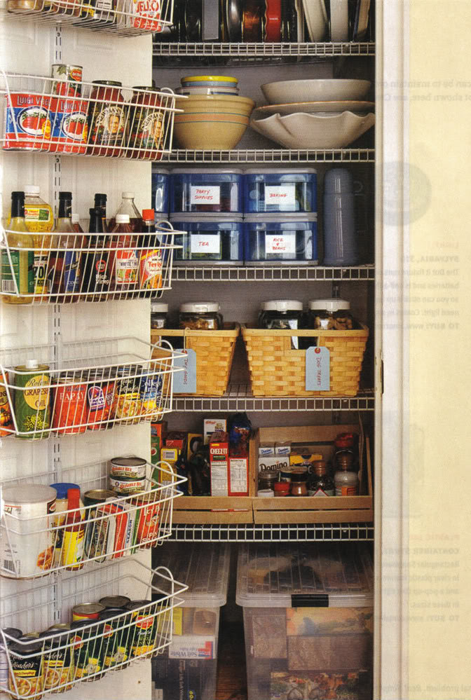 High Quality Organized Kitchen Pantry