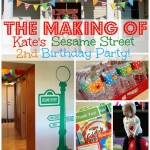 The Making of Kate's Sesame Street Birthday Party | www.allthingsgd.com