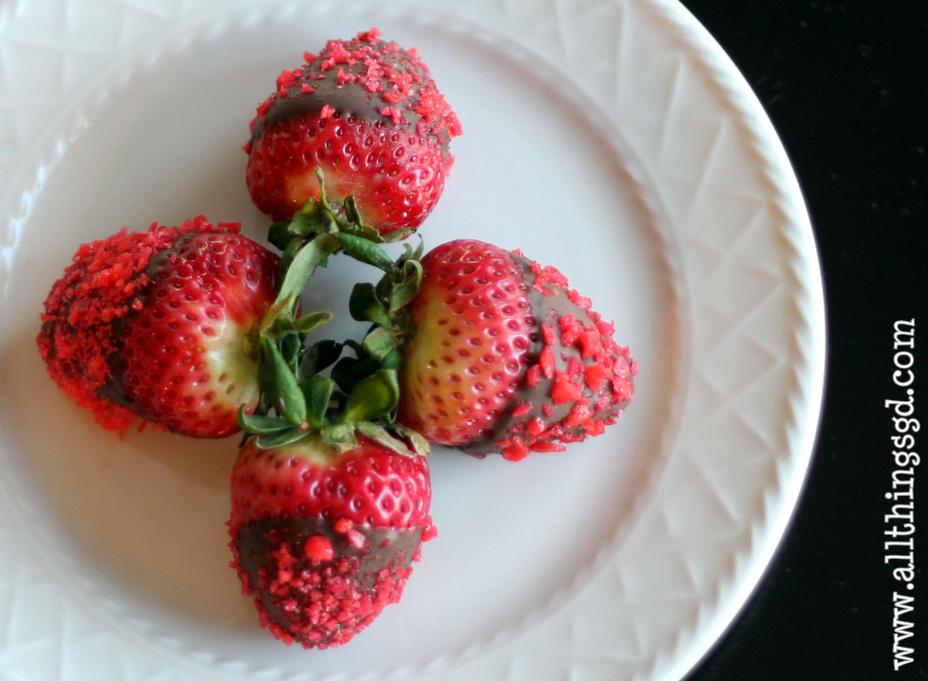 Chocolate Covered Strawberries Pop Rocks