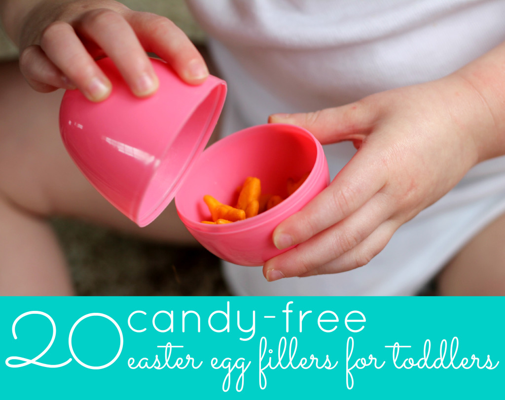 20 Candy-Free Easter Egg Fillers for Toddlers
