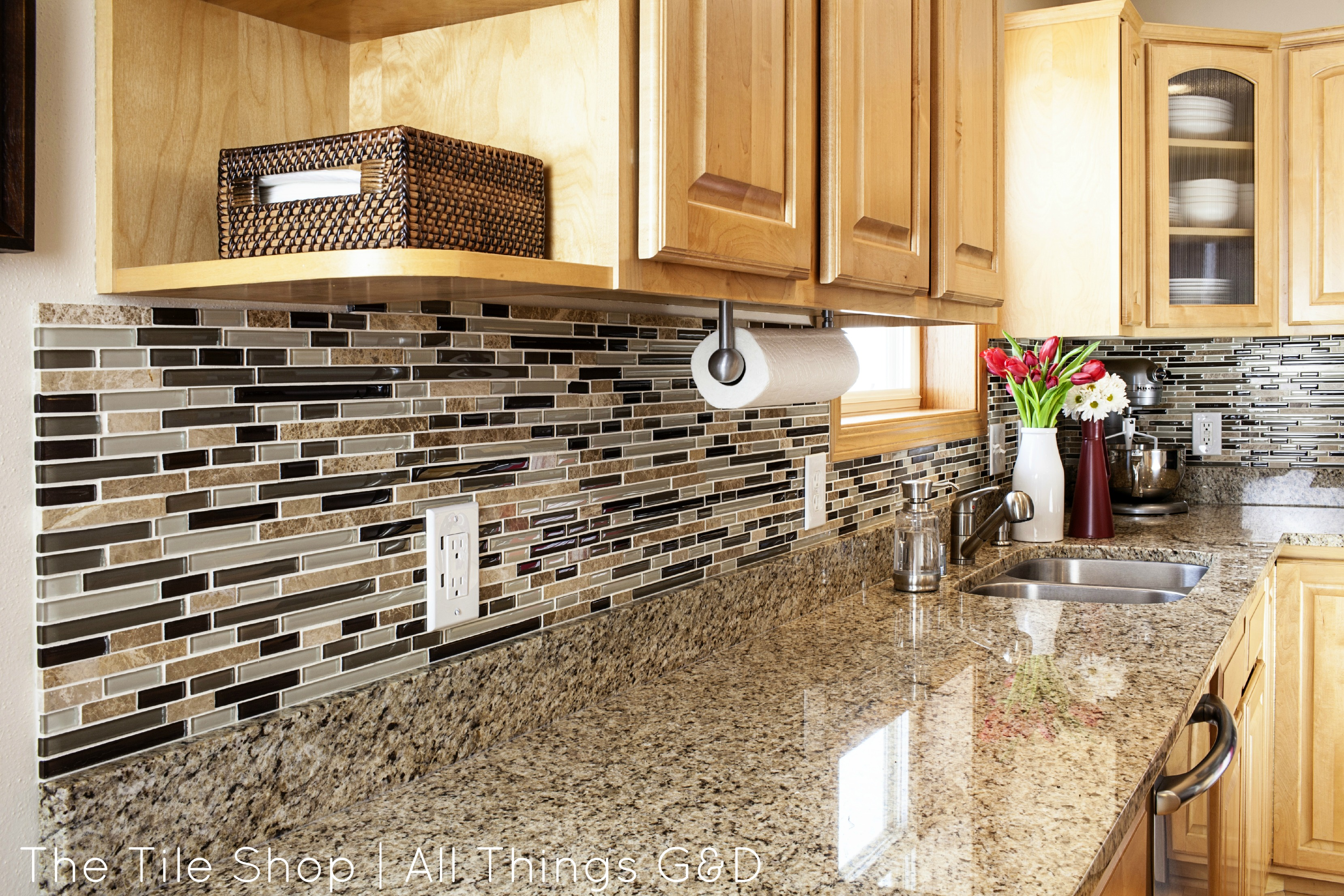 Diy Tile Backsplash Kitchen My Tile Shop Photo Shoot The After Pics All Things Gd