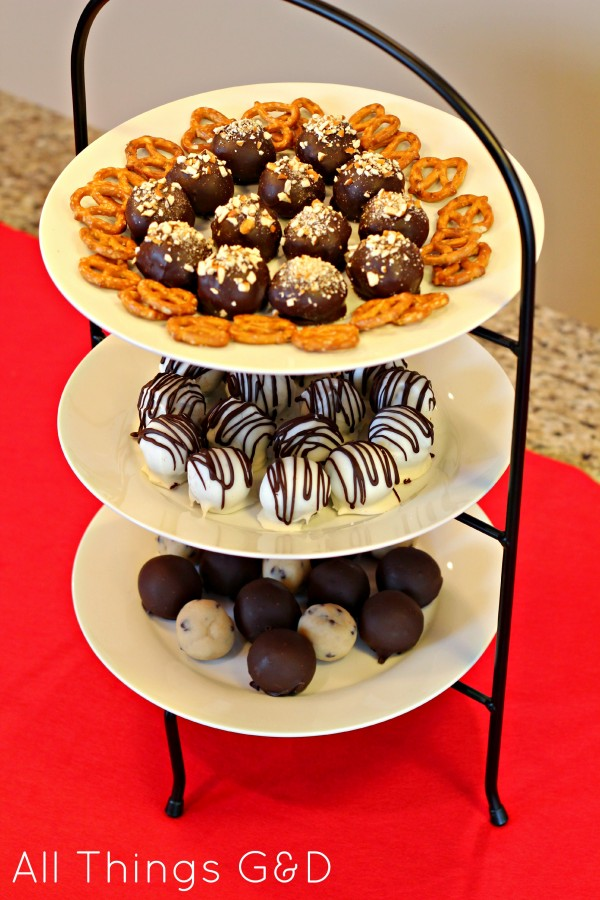 My truffle tower - always a guest favorite!