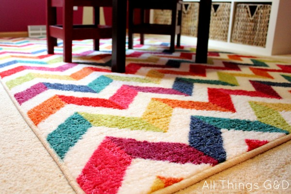Mohawk Home's Mixed Chevrons Area Rug