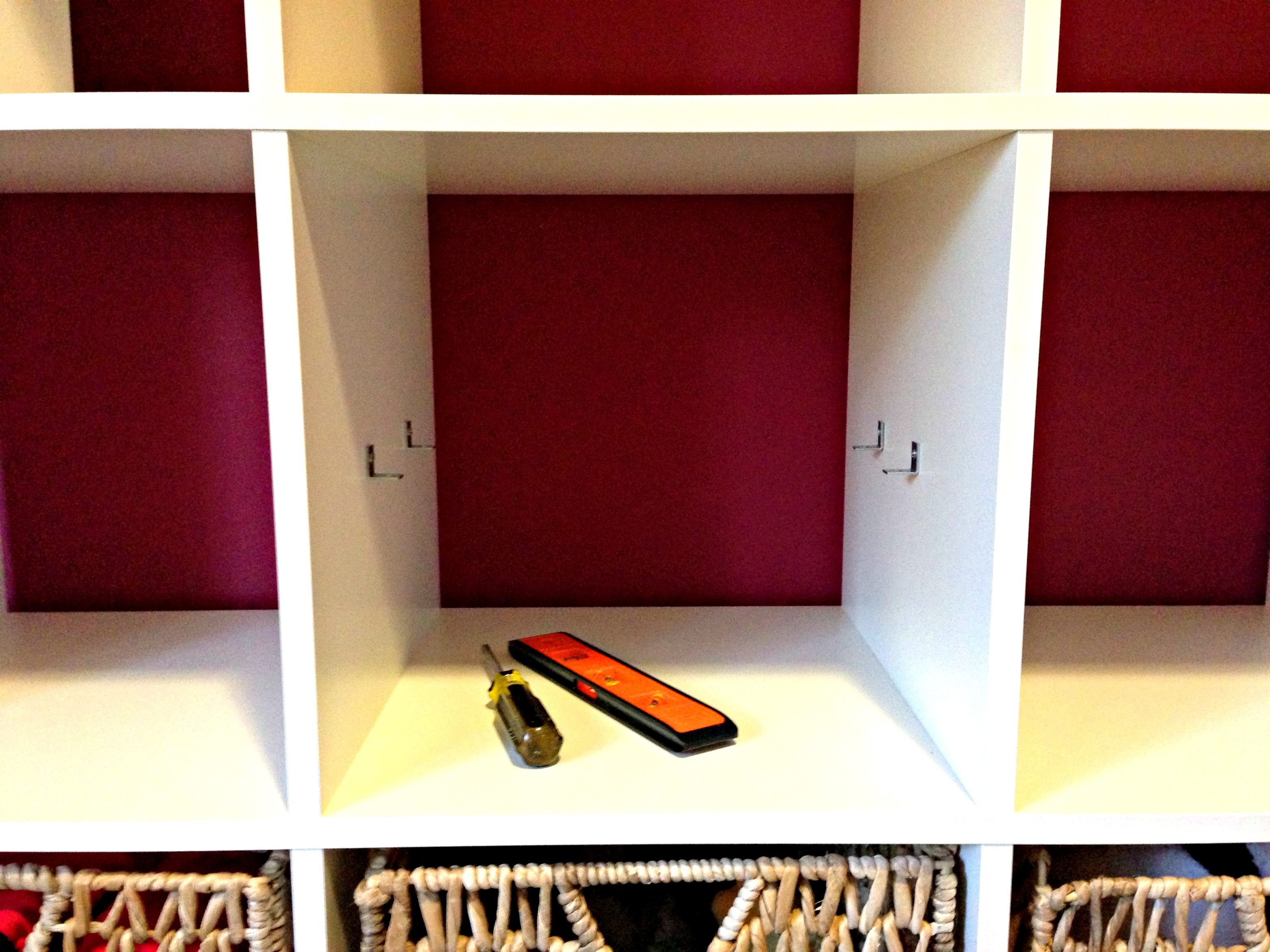 how to add a shelf to an ikea expedit 4 shelves for only 20 - Ikea Bookshelves Expedit