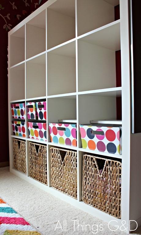 White Kallax Playroom