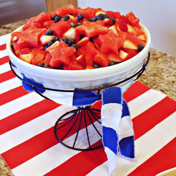 4th of July Fruit Salad | www.allthingsgd.com