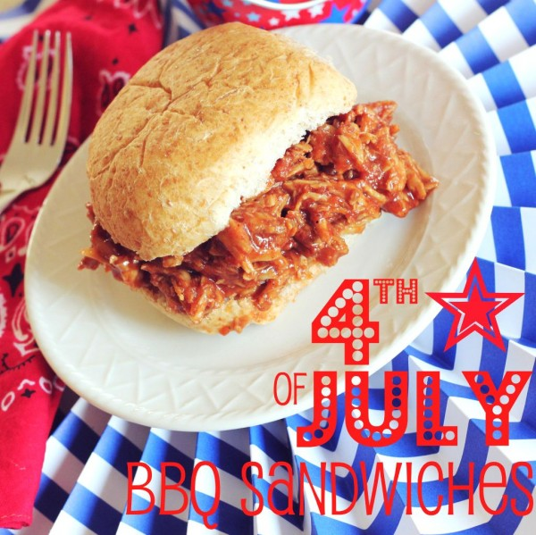 4th of July BBQ Sandwiches | www.allthingsgd.com