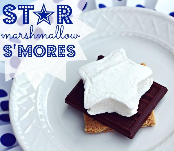 Star Mashmallow S'Mores | www.allthingsgd.com