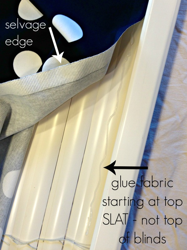 DIY Roman Shades for Wide Windows Using Mini Blinds