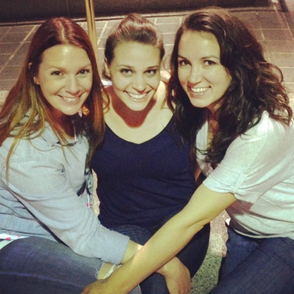 Me, Sherry, and Katie - the end of a wonderful day with some wonderful girls!