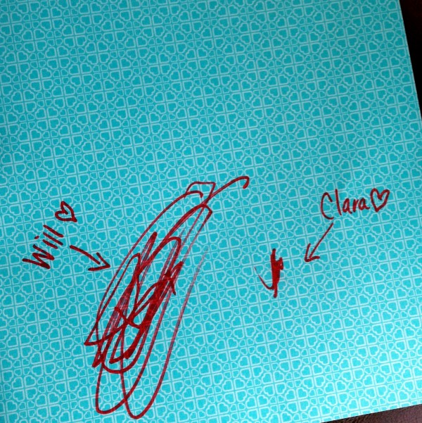Check out these super-cute autographs I scored in the inside cover of my Young House Love book - one of a kind!