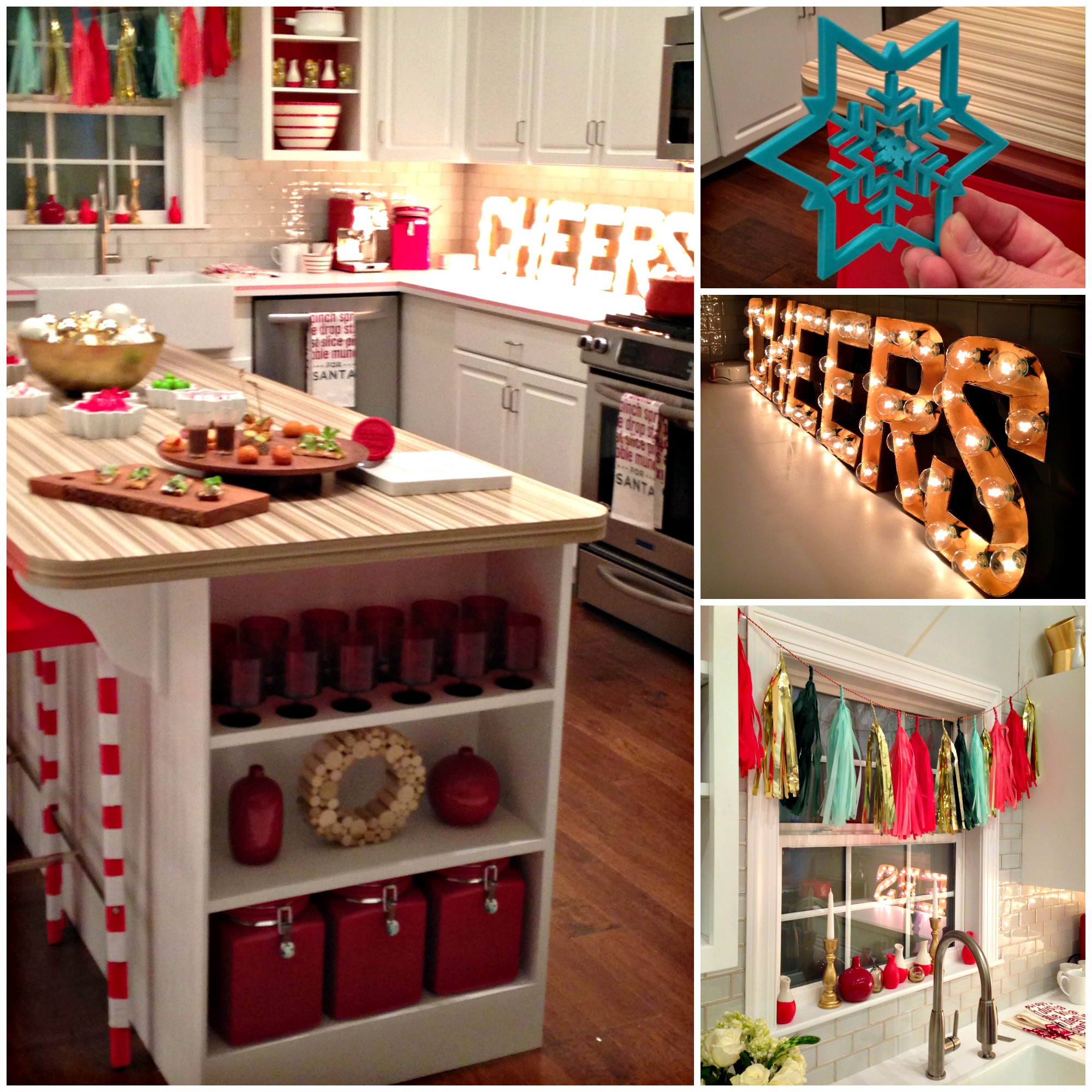 "Christmas In The Kitchen: Lowe's ""Deck The Halls And Walls And All"" Event"