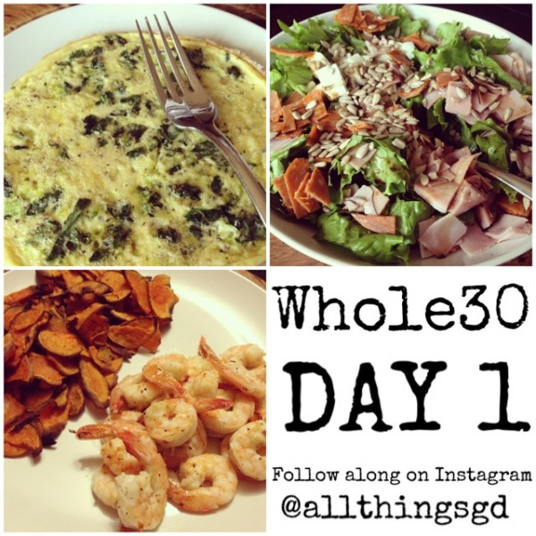 Whole30_Day1