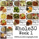 Whole30, Week 1 meals and recipes | www.allthingsgd.com