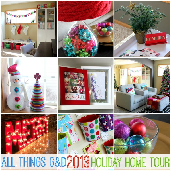 All Things G&D 2013 Holiday Home Tour | www.allthingsgd.com