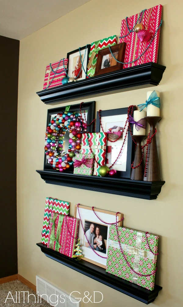 Gift Wrapped Picture Frames - All Things G&D