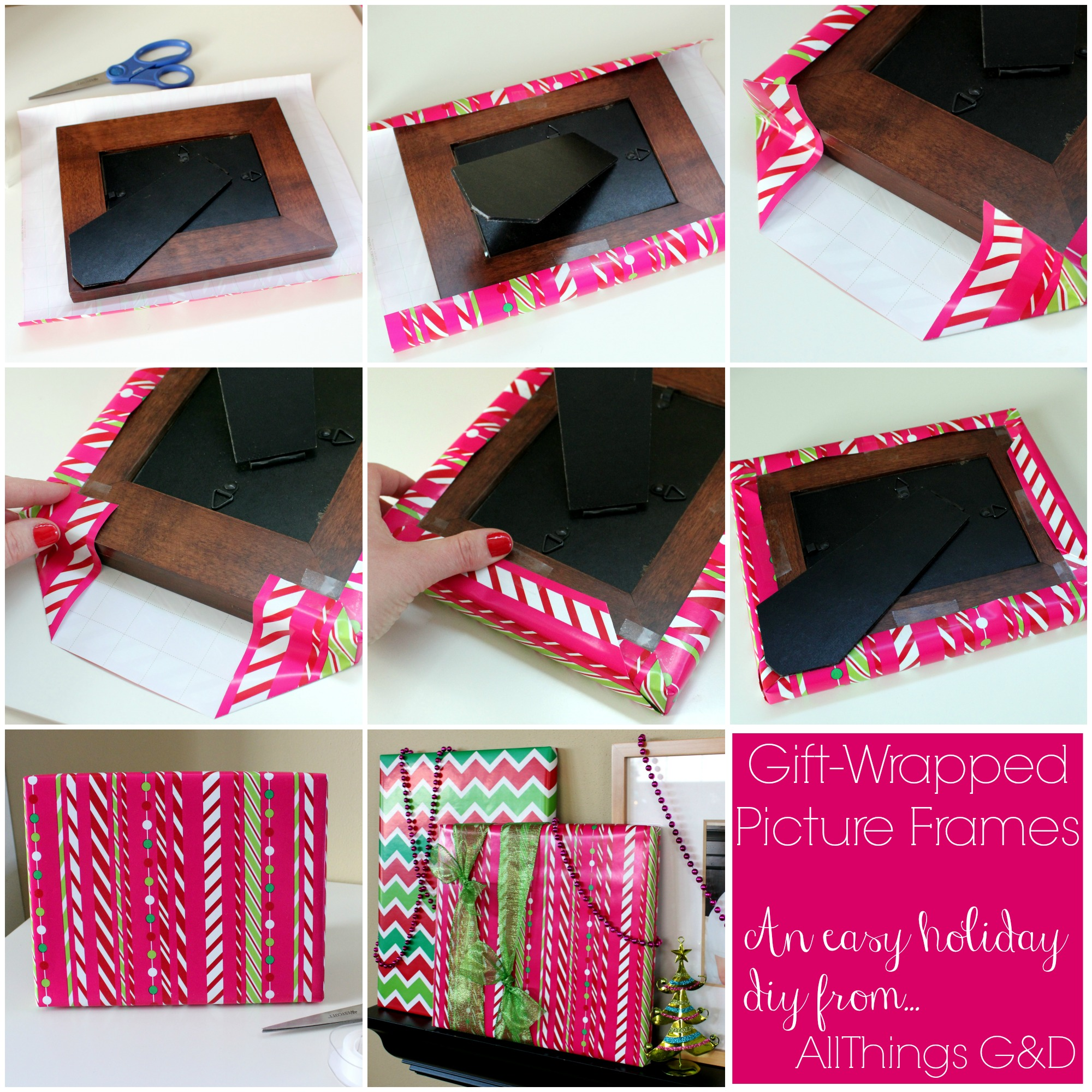 how to make photo frame for gift