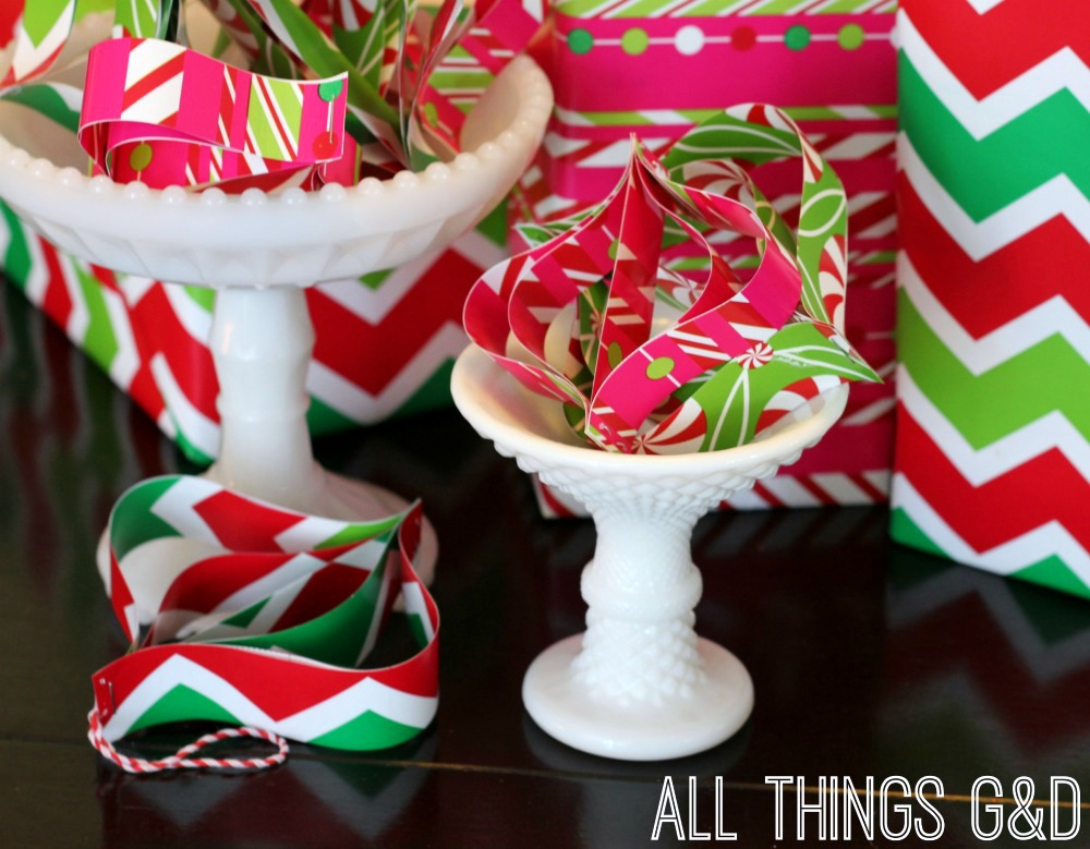 Diy ornaments made from wrapping paper scraps all things gd dont throw those wrapping paper scraps away use them to make diy ornaments solutioingenieria Choice Image