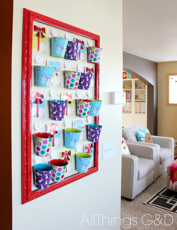 25 candy free advent calendar ideas all things g d. Black Bedroom Furniture Sets. Home Design Ideas
