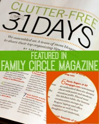 All Things G&D featured in Family Cirlce Magazine | www.allthingsgd.com
