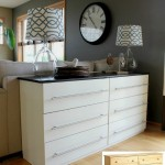 IKEA TARVA Transformed To Kitchen Sideboard