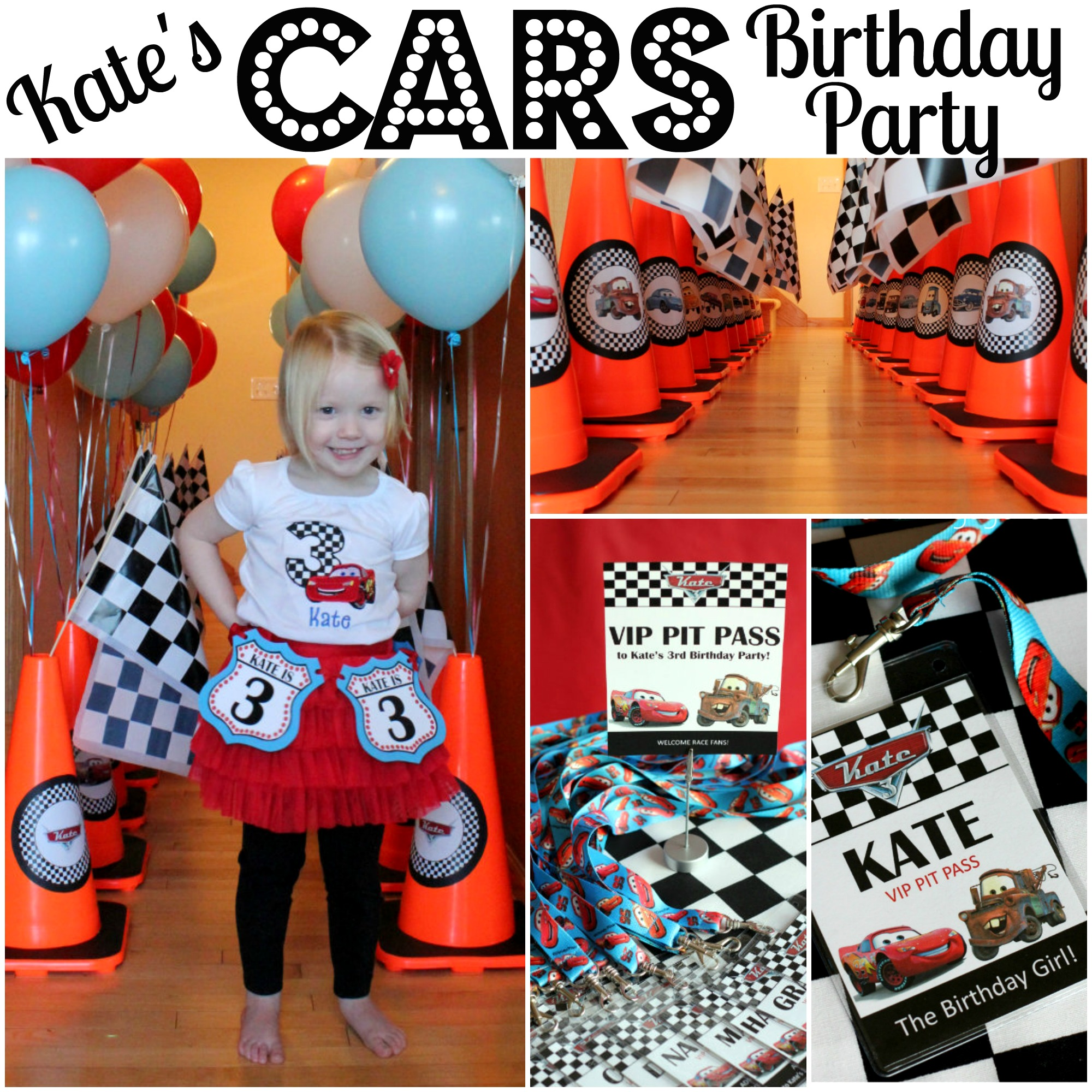 Kate S Cars Themed Birthday Party All Things G D