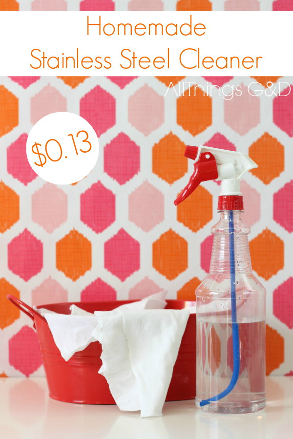 Make your own money-saving cleaning products - it's easier than you think! | www.allthingsgd.com