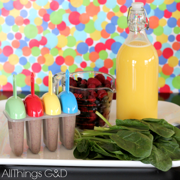 Veggie Surprise Pops: For Kids Who Think That Veggies Suck! | www.allthingsgd.com