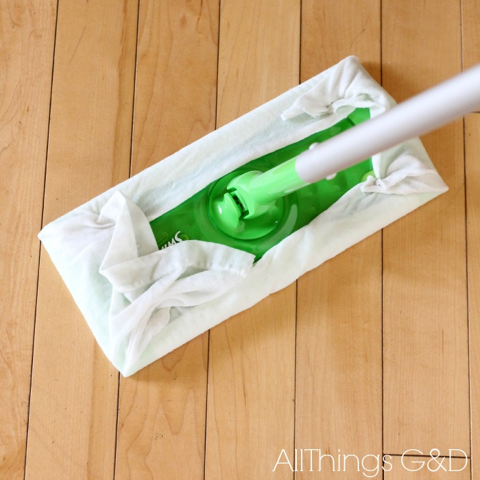 Reusable Swiffer Wet Wipes Made From Old T Shirts All