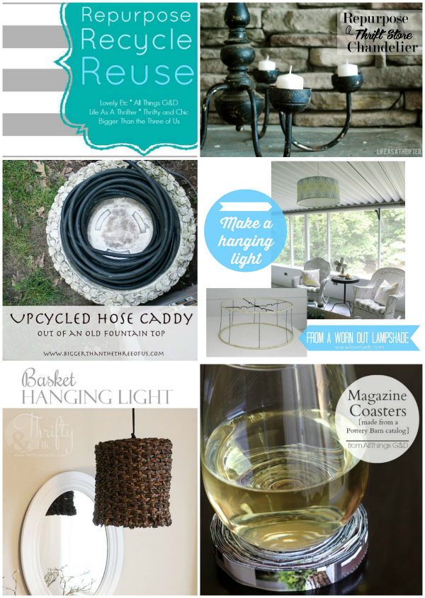 Repurpose, Reuse, Recycle Collection: June 2014