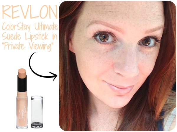 """There perfect NUDE lip! Revlon ColorStay Lipstick in """"Private Viewing""""   www.allthingsgd.com"""