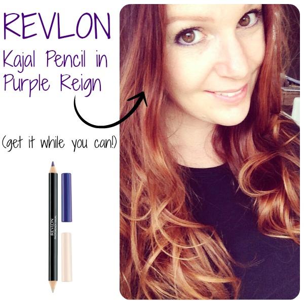 Things Loved Lately - Revlon Kajal Pencil in Purple Reign   www.allthingsgd.com