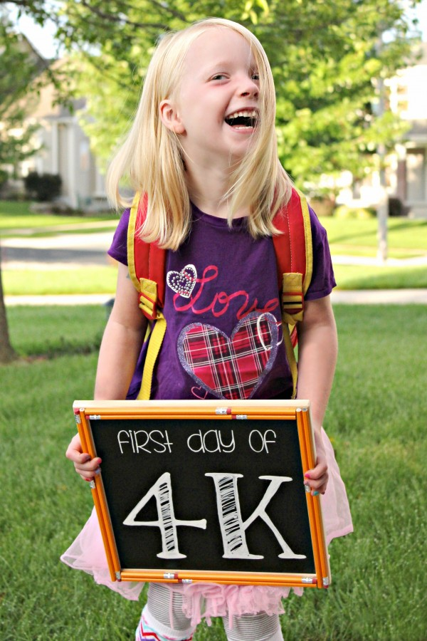 Back to School Chalkboard Signs from All Things G&D