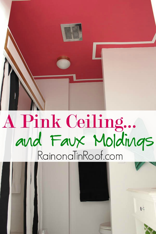 pink-ceiling-faux-moldings