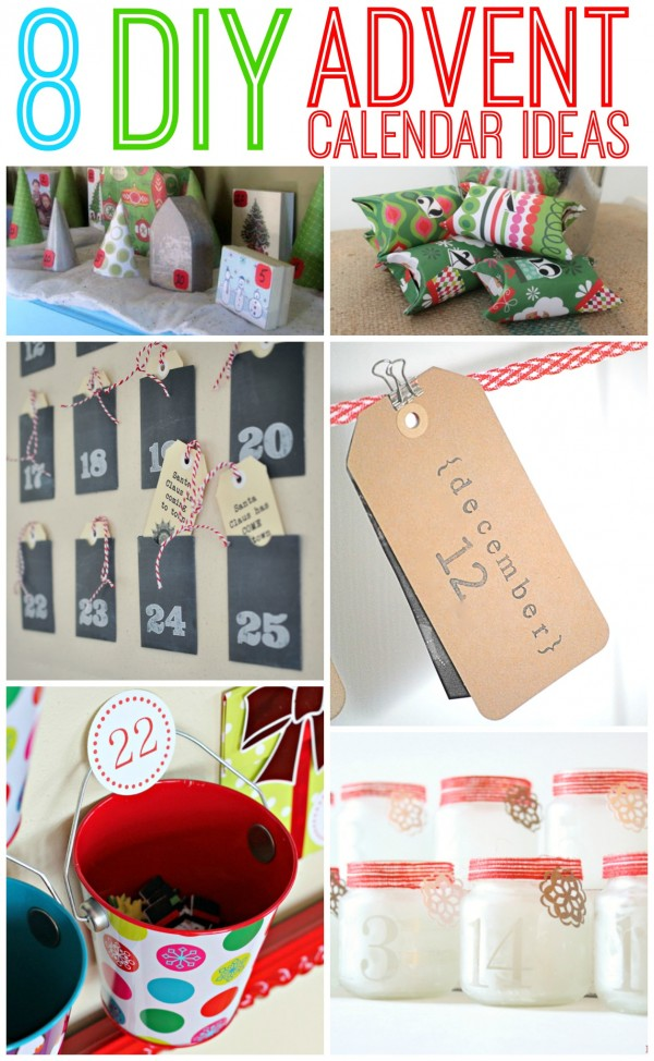 Make your countdown of the days until Christmas a memorable one with these 8 creative DIY Advent Calendar Ideas!