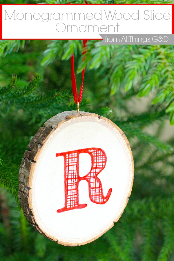 Monogrammed-Wood-Slice-Ornament