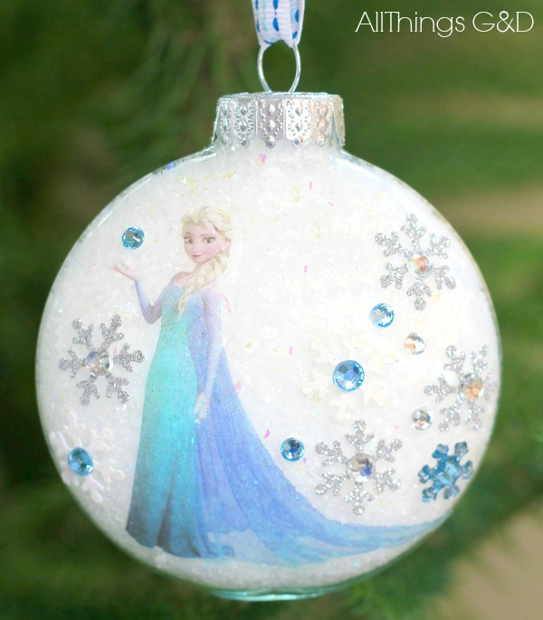 Diy Princess Elsa Ornament All Things G Amp D