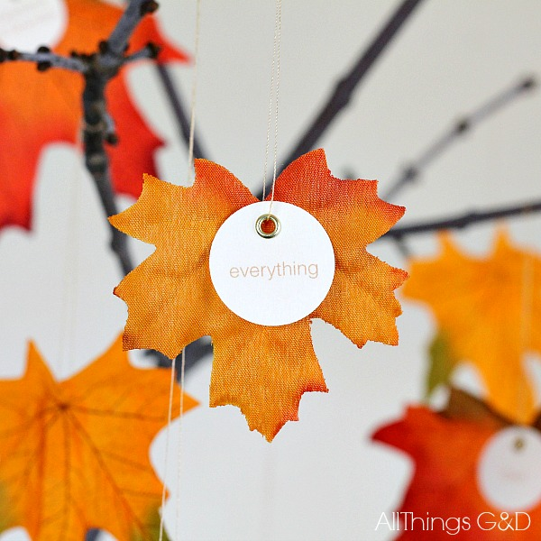Thankful tree all things g d for Thankful tree craft for kids