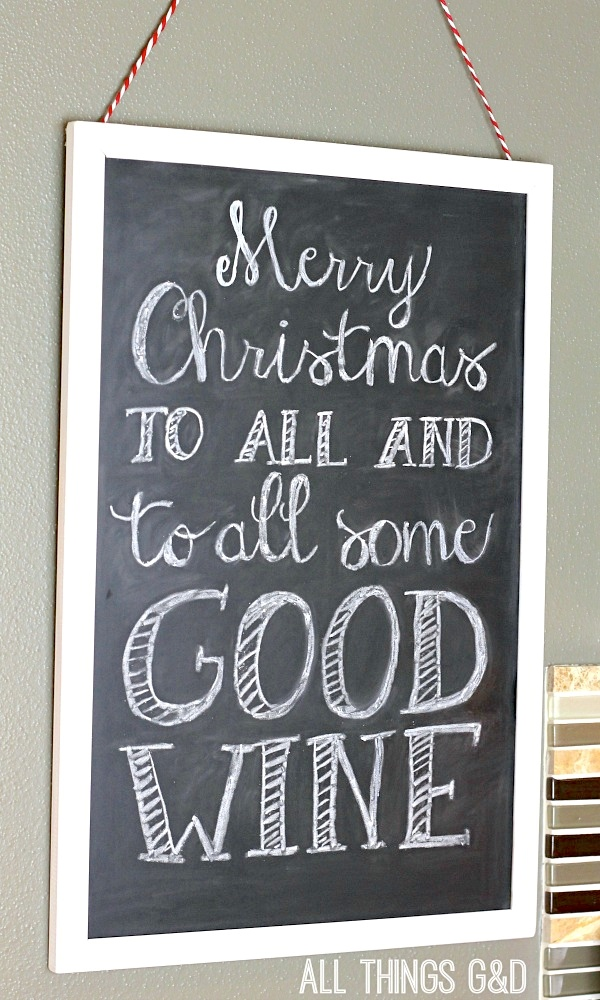 Mommy's Advent Calendar - a Christmas countdown for the wine lovers in all of us! | www.allthingsgd.com