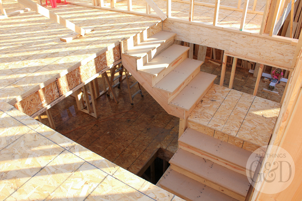 Atg d dream home framing 2nd floor all things g d for Floor 2nd
