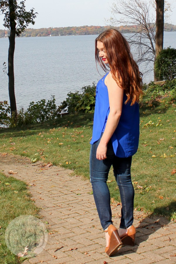 A look at the Pixley Lenta cut out blouse from Stitch Fix. | All Things G&D #StitchFix