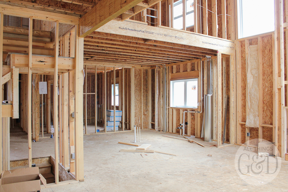 An interior look at the windows we chose for our new home construction. | All Things G&D #ATGDdreamhome #newhomeconstruction #customhome #customhomeconstruction