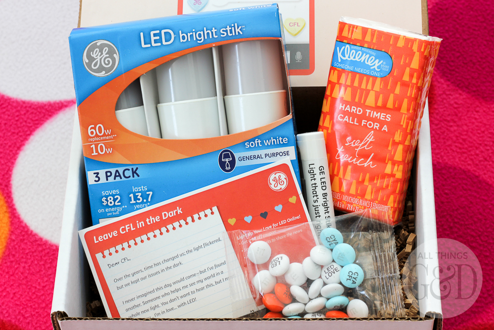 GE's LED Bright Stik #litwithlove