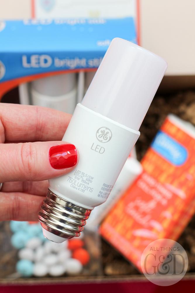 GE's LED Bright Stik #litwithlove