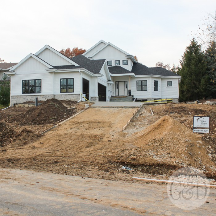 ATG&D Dream Home | Driveway & Front Stoop