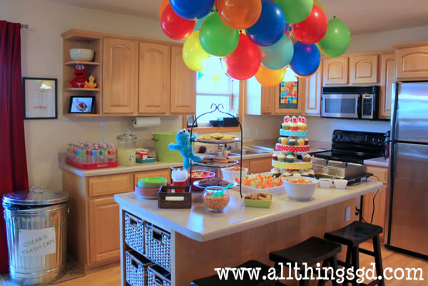 Sesame Street Party Wall Decorations