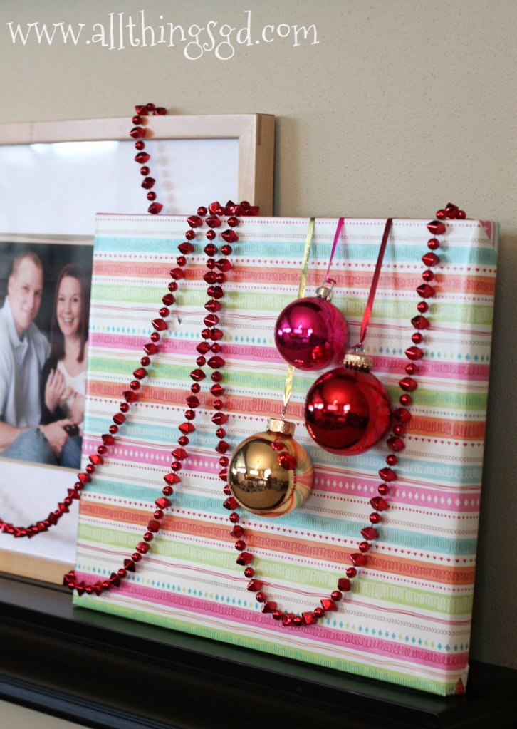 Gift Wrapped Photo Gallery Wall All Things G Amp D