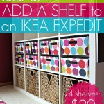 How To Add Shelves to IKEA Expedit