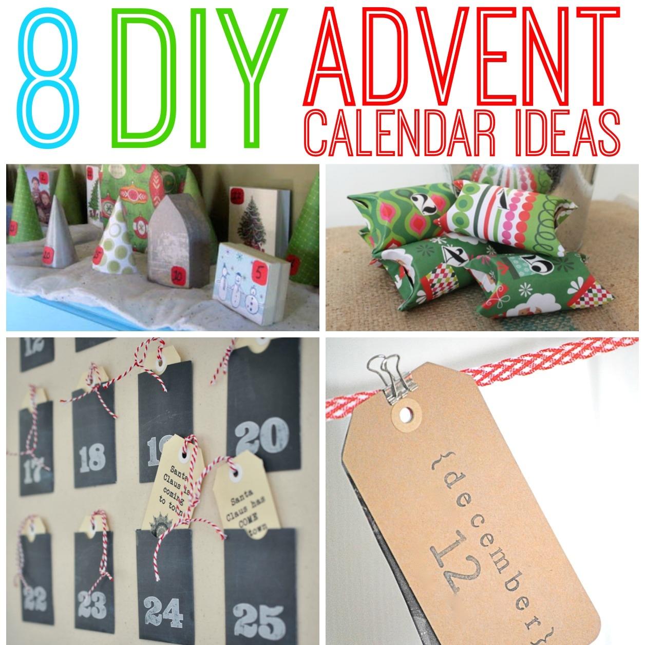 diy advent calendar ideas all things g d. Black Bedroom Furniture Sets. Home Design Ideas